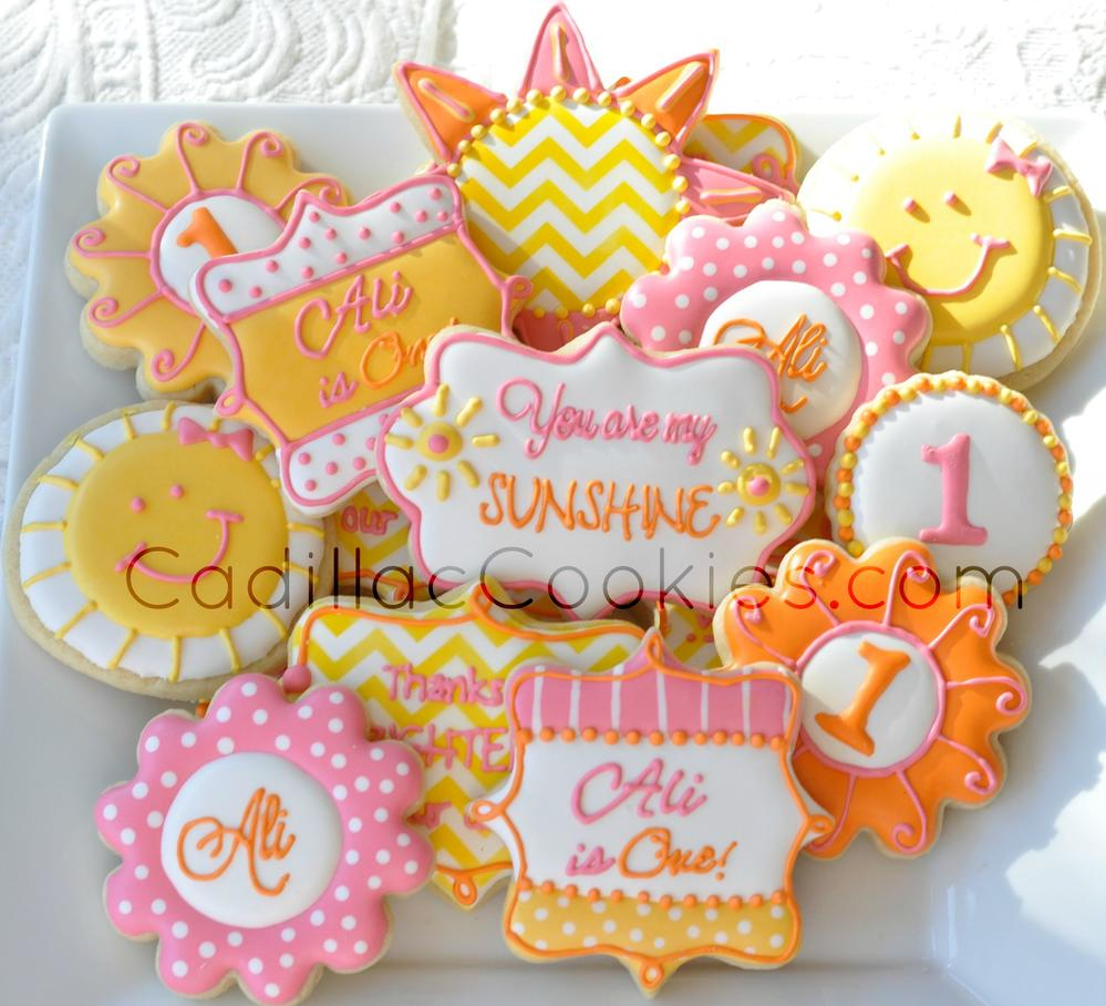 You Are My Sunshine Cookie Connection