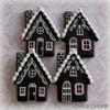 winter cottage cookies