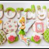 Tinker Bell Birthday Cookies