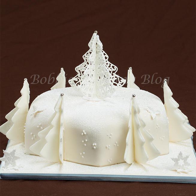 Colorado Christmas Cake