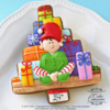 Day 24 - Busy Christmas Eve Elf ~ ©The Cookie Connoisseur/Whisked Away Cookies