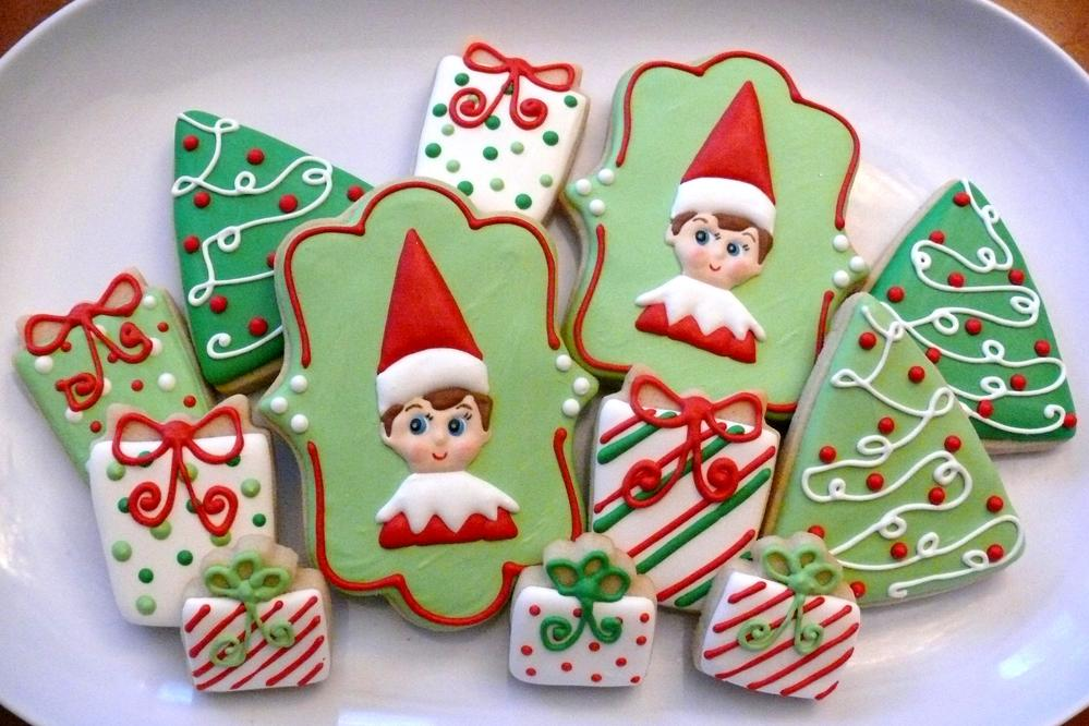 Not So Creepy Elf On The Shelf Cookies Cookie Connection