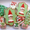 Not so creepy Elf on the Shelf cookies