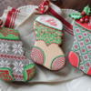 3-D Stuff-able Stocking Cookies: Cookies and Photo by Julia M Usher