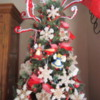 Gingerbread Ornament Christmas Tree-scape