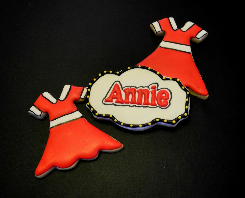 Annie Dress Amp Plaque Cookie Connection