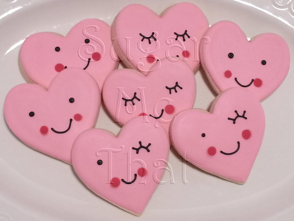 valentine's day cookies | cookie connection, Ideas