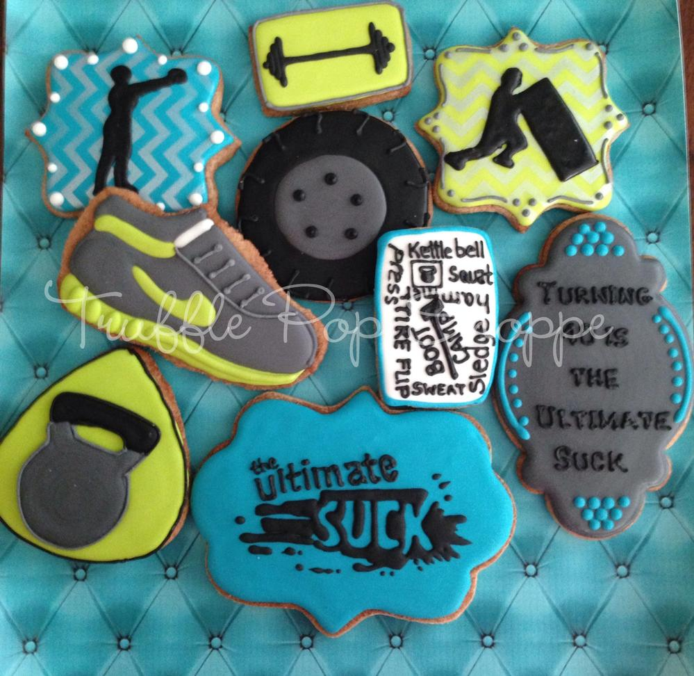 Boot Camp Cookies For 40th Birthday