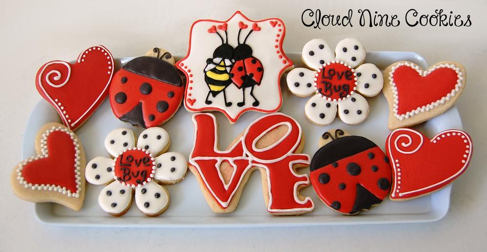 love bug valentine's day cookies | cookie connection, Ideas