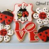 Love Bug Valentine's Day Cookies