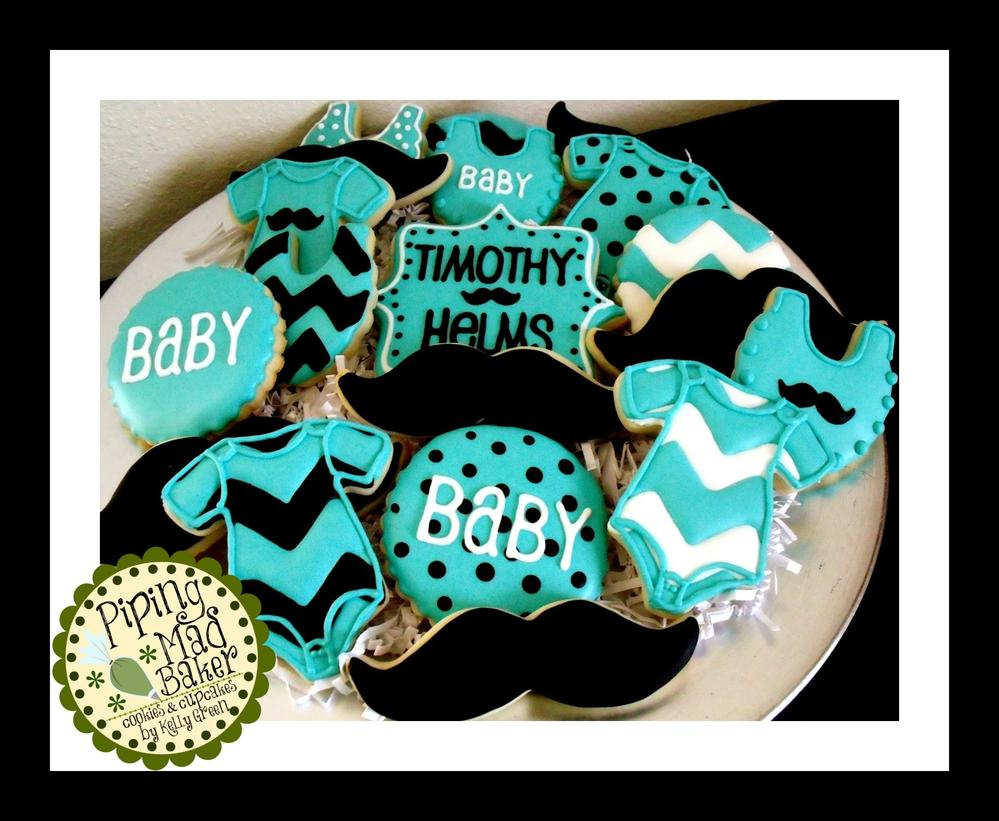 Boy Baby Shower Cookies Cookie Connection