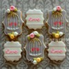 Valentine's Day Plaque Cookies