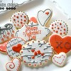 Valentine's Day - Custom Cookies by Jill