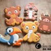 Lion King - Baby Shower - Custom Cookies by Jill