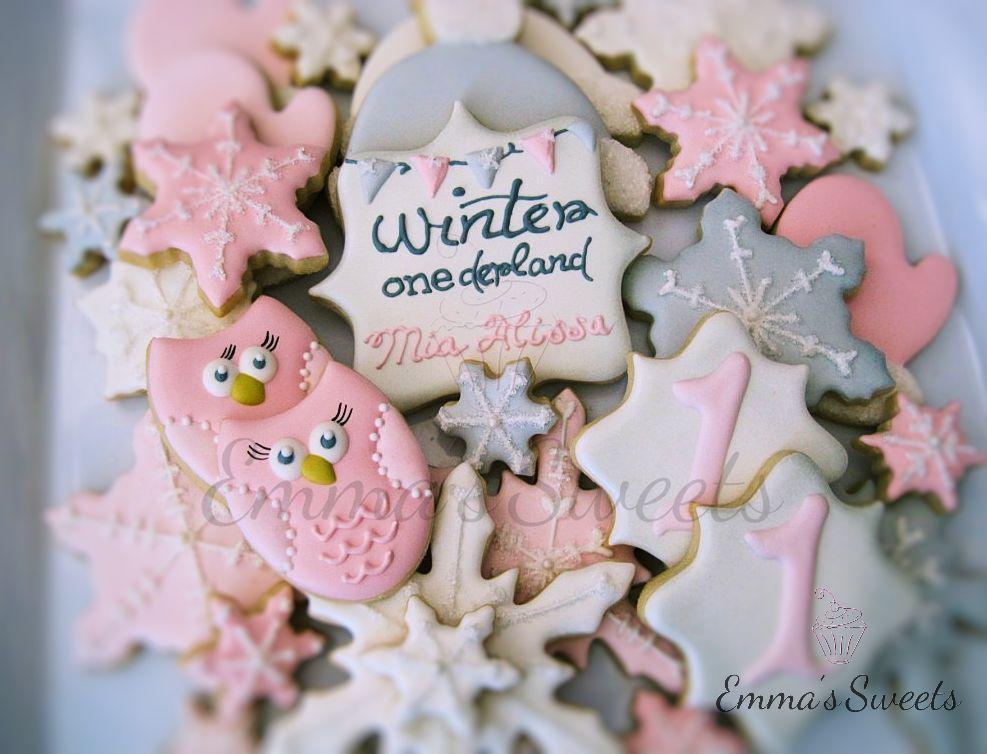 Winter Onederland Cookies Cookie Connection