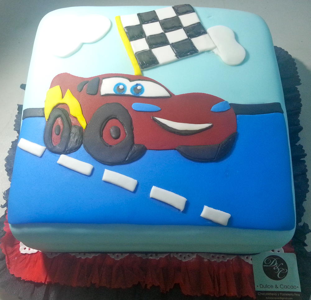 Carslightning Mcqueen Cake Cookie Connection