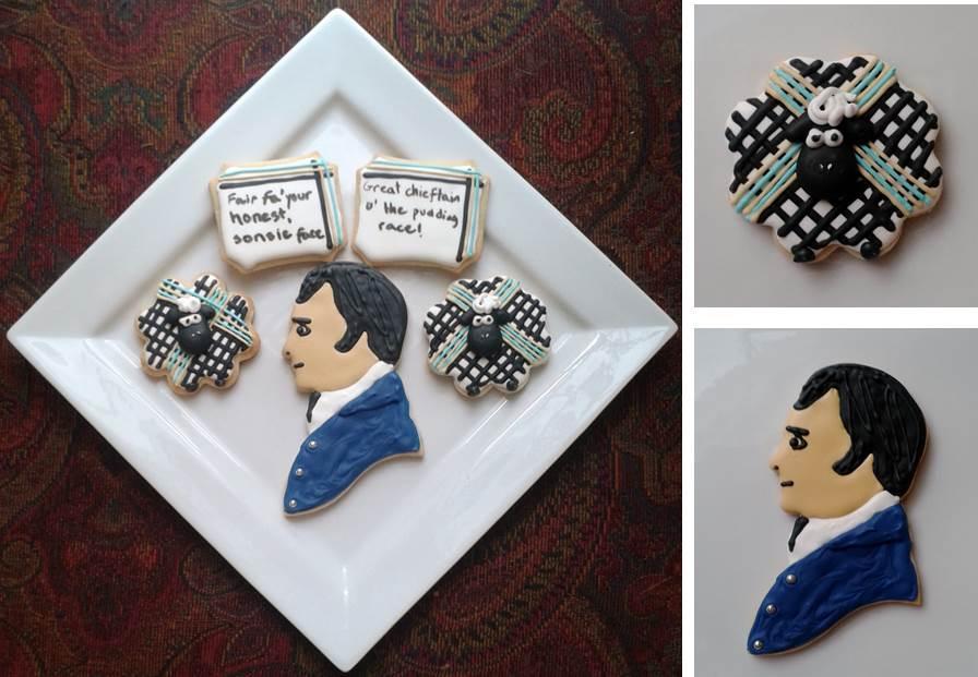 Robbie Burns Cookies