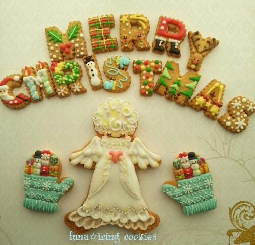 Christmas Cookies Angel Cookie Connection