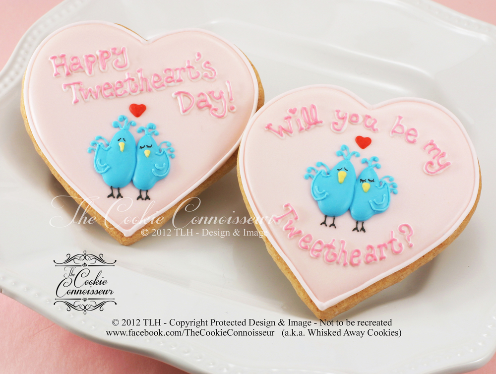Will You Be My Tweetheart 2012 The Cookie Connoisseur Aka