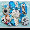 Disney Frozen Cookies by Sugar Rush Custom Cookies