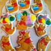 Pooh Bear birthday cookies