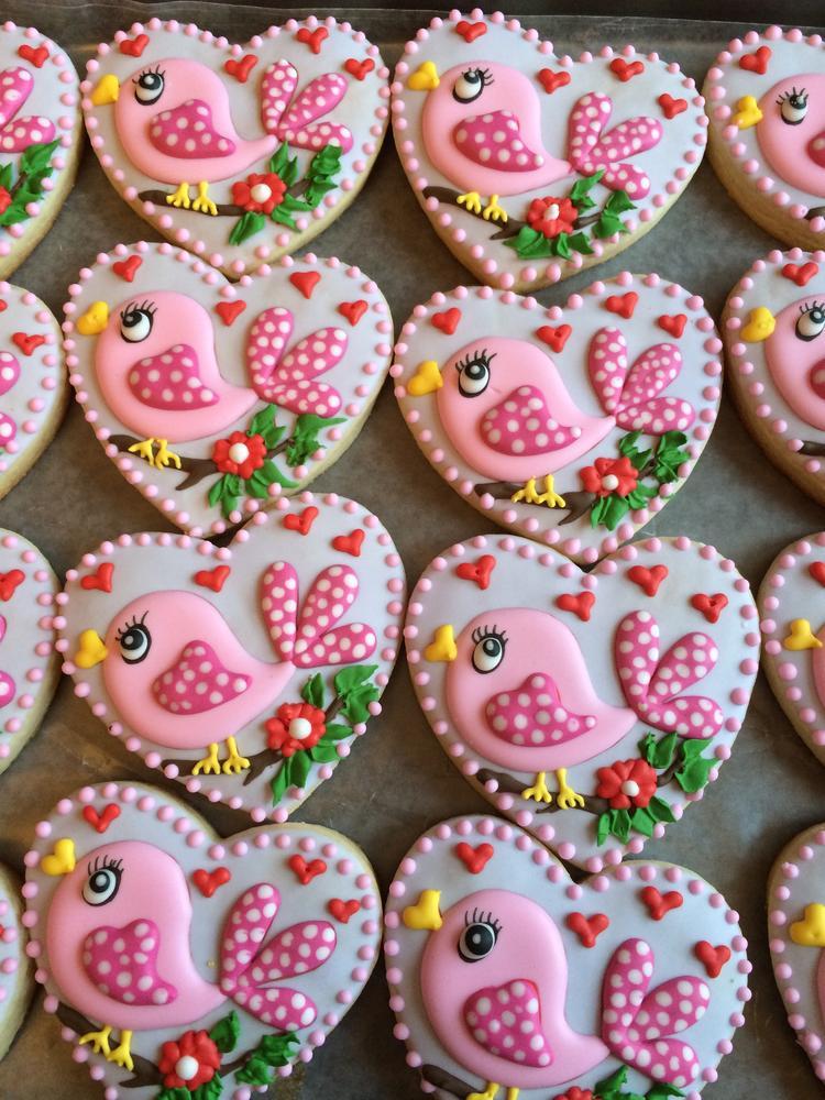 Valentine's Day cookies 2014