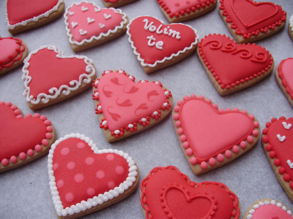 Valentine S Day Decorated Cookies Cookie Connection