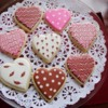 Valentine Day Cookies by Asmita