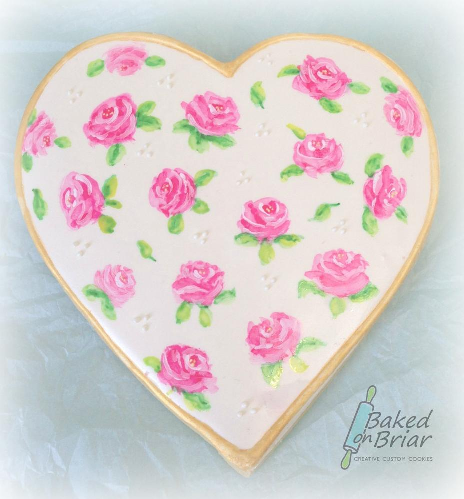 Painted Roses Valentine