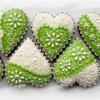 Hearts White&Green4