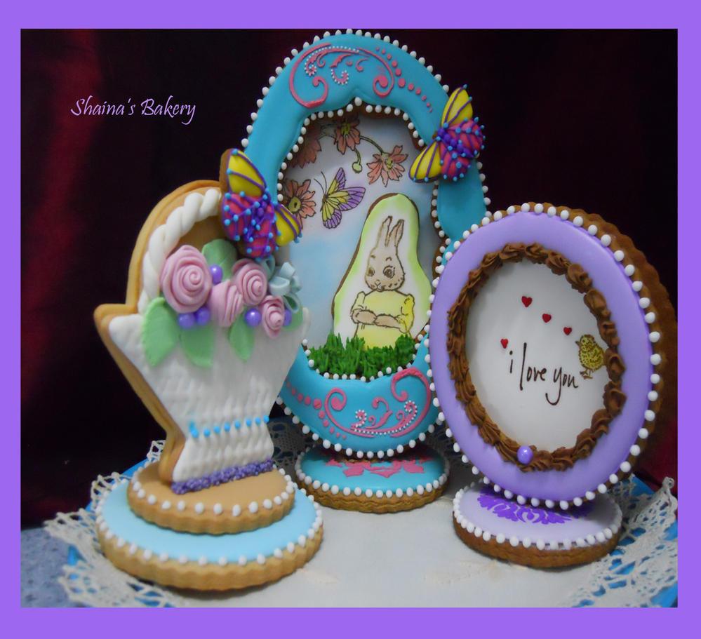3D Cookies Set by Julia Usher method