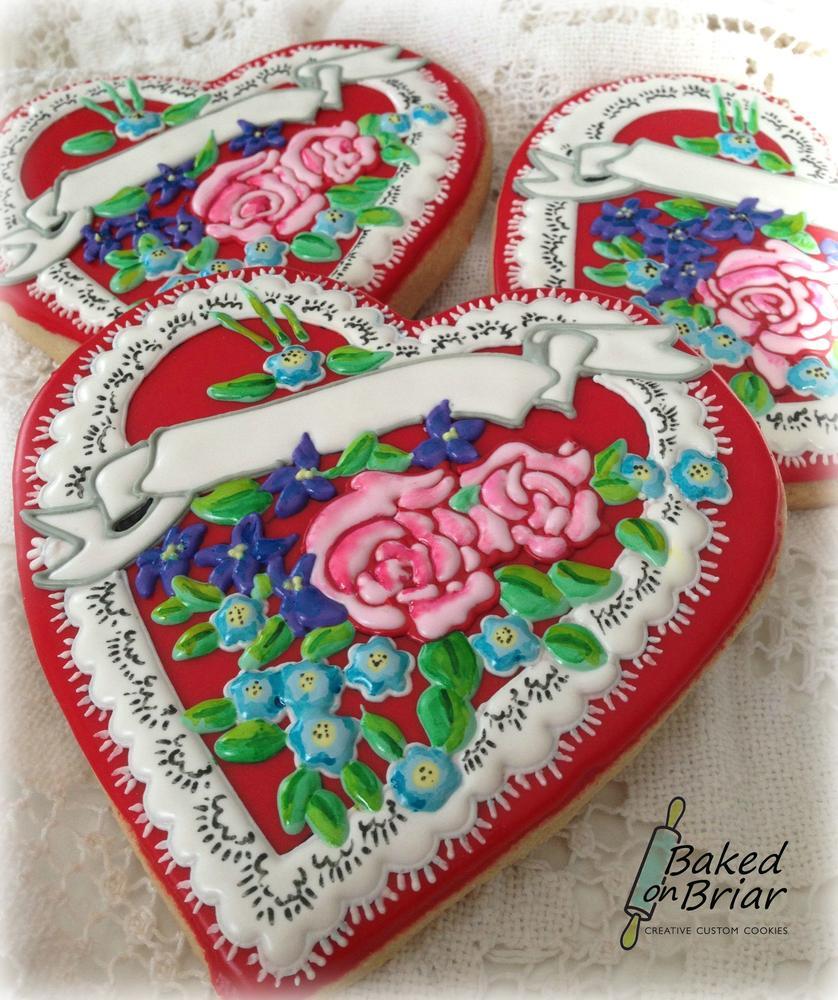 Vintage Style Valentines