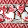 Henna-inspired hearts
