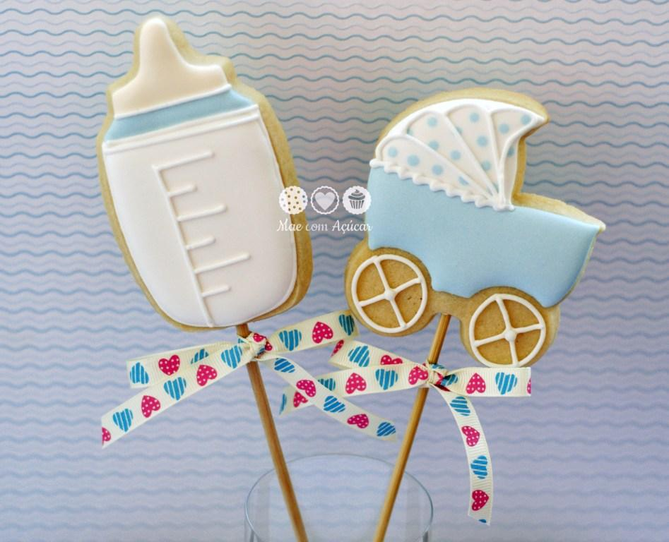 Cookies For Baby Boy Shower On Sticks Cookie Connection