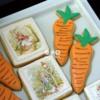 Peter Rabbit in wafer paper cookies