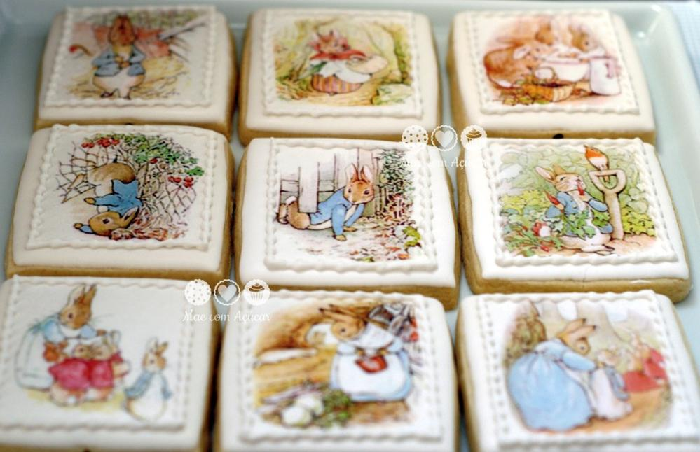 Peter Rabbit In Wafer Paper Cookies Cookie Connection