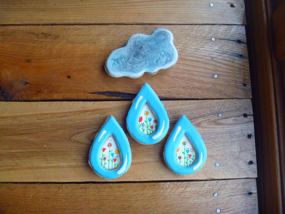 Raindrop Puzzle - GFDF Cookie Creations