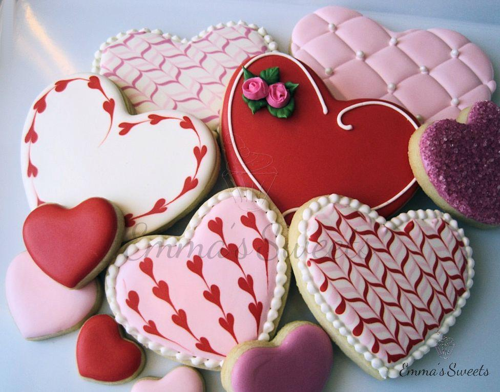 Valentine's Day Hearts by Emma's Sweets