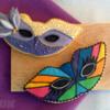 Mardi Gras masks - Máscaras de Carnaval