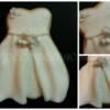 Biscotto vestito da sposa