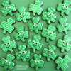 St. Patrick's Day Shamrocks By Melissa Joy Fanciful Cookies