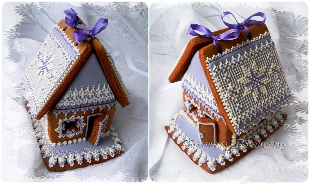 Gingerbread House Quot Winter Lace Quot Cookie Connection