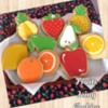 Fruits Icing Cookies