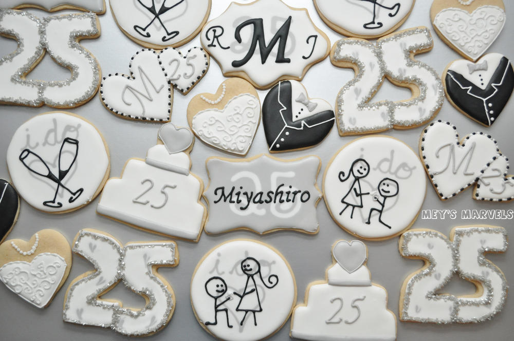 25th Anniversary Cookies Cookie Connection