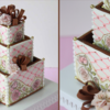 Cookie Wedding Cake Box Detail