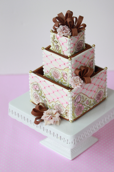 Wedding Cake Boxes For Posting