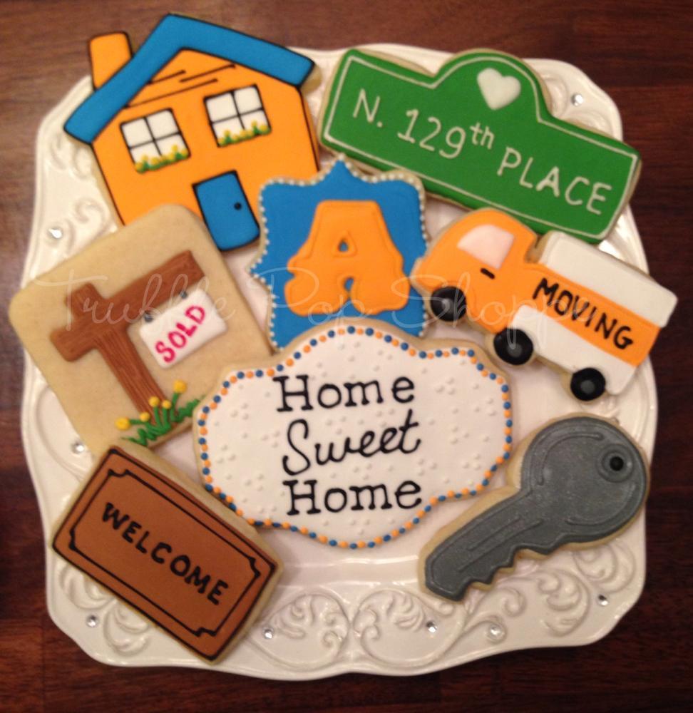 Housewarming Cookies Truffle Pop Shoppe Cookie Connection