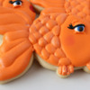 Girly Goldfish Cookies
