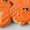 Girly Goldfish Cookies