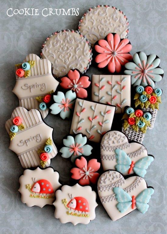 Spring Cookie Platter